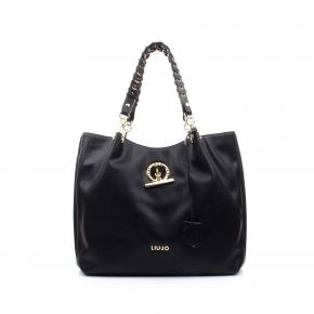 Borsa shopping satchel Liu Jo nera