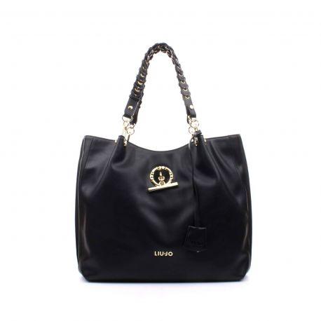 Borsa shopping satchel Liu Jo nera