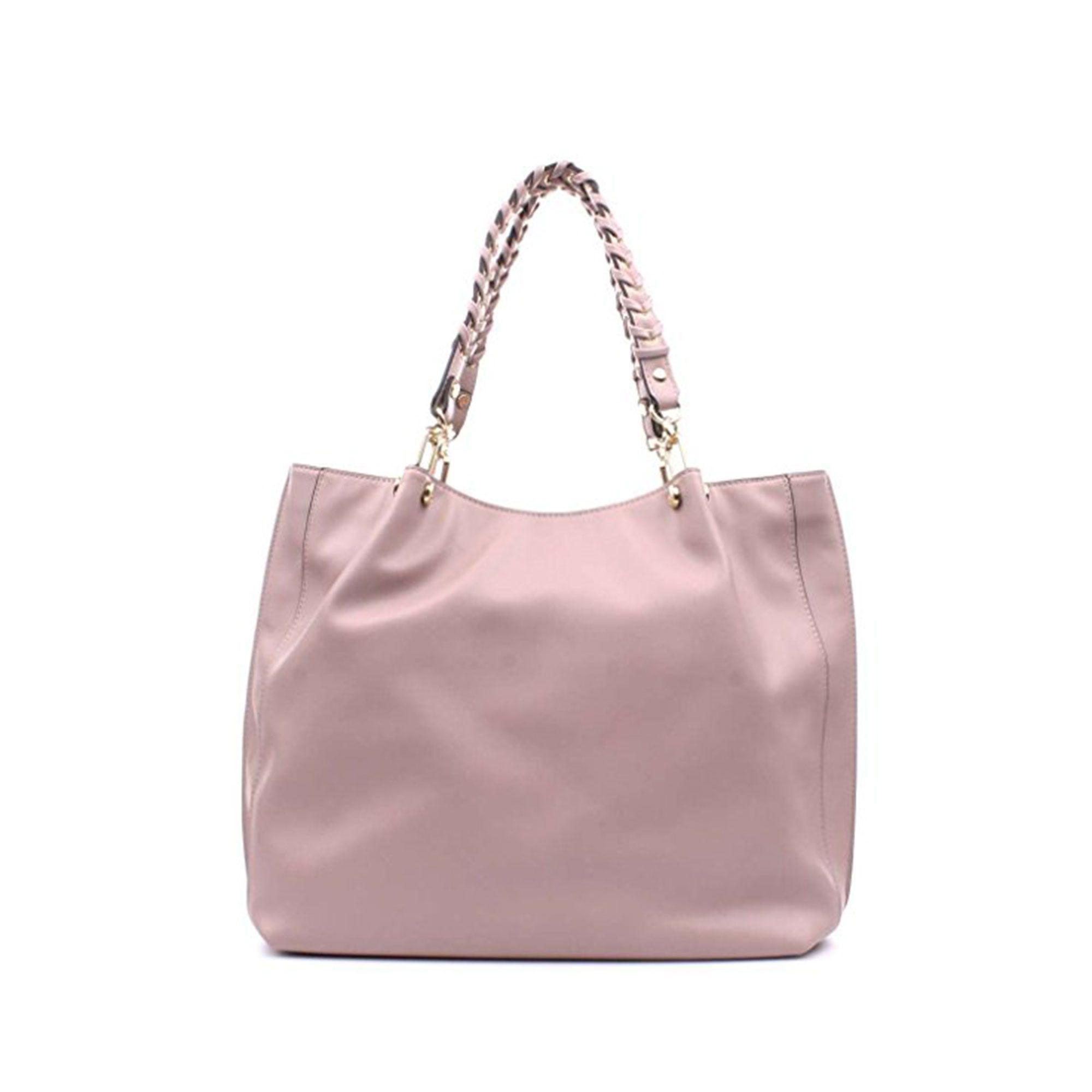 Borsa shopping satchel liu jo quarzo rosa in more est store Borsa liu jo  con specchio 7c6ef2a2f37