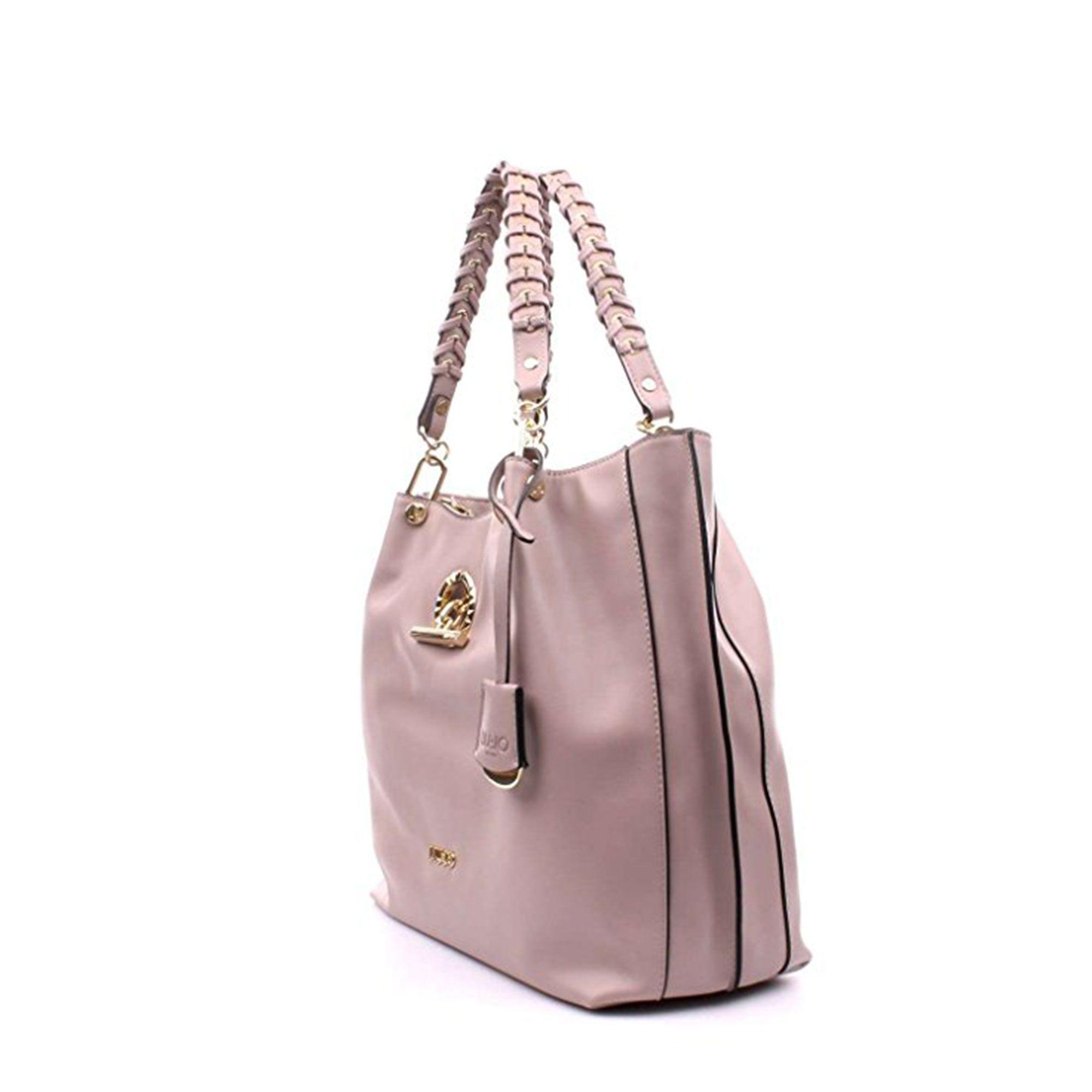 30945401d5 ... LIU JO Borse con manico, Anna Bauletto Boston Bag M Dark Pink fucsia;  Borsa ...