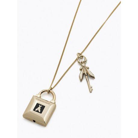 Collana necklace Patrizia Pepe light gold oro