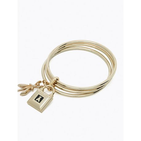 Bracciale Patrizia Pepe light gold black