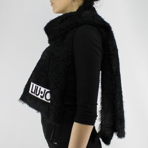 Bufanda de Liu Jo logo negro