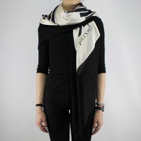 Sciarpa kefia Twin Set cuore white cashmere