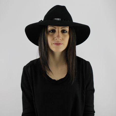 Cappello tesa larga Liu Jo nero