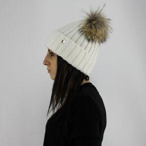 Cappello ponpon pelliccia LiuJo glass