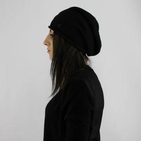 Sombrero de laminado de LiuJo negro