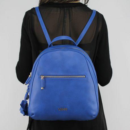 Rucksack handtasche Liu Jo Naigara blau nautischen N18124 E0037