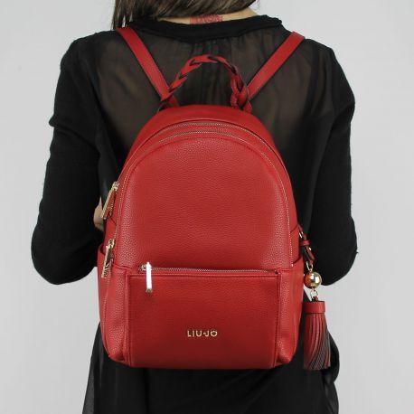 Borsa zaino Liu Jo m backpack arizona cherry red