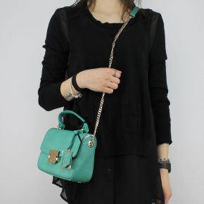 Borsa a mano Liu Jo Cross Body Long Island verde A18142 E0037
