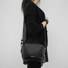 Shoulder bag Liu Jo Beauty Double Zip blue N18130 E0037