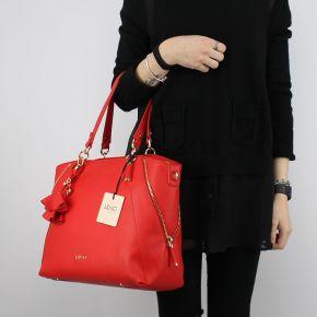 Borsa Shopping Liu Jo Tote Niagara rossa N18120 E0037