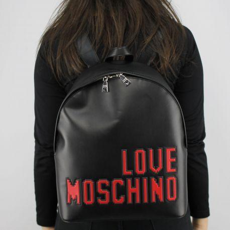 Zaino Love Moschino nero logo game JC4068PP15LH0000
