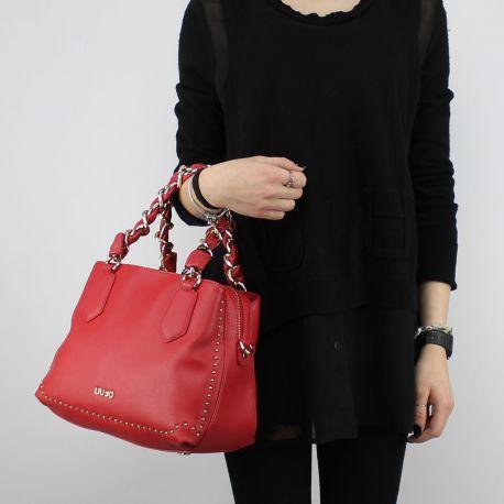 Shopping bag Liu Jo Umhängetasche Lovely You rote A18021 E0010