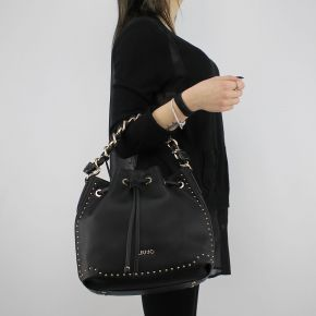 Bag bucket bag Liu Jo m drawstring lovely you black