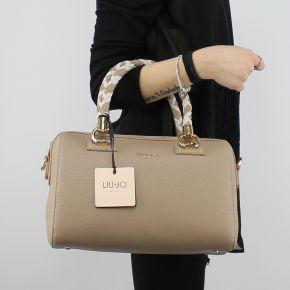 Tasche topcase Liu Jo umhängetasche manhattan turteltaube A18080 E0499
