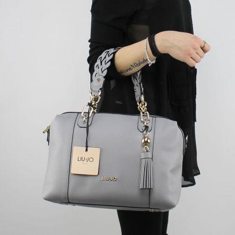 Shopping bag Liu Jo Umhängetasche Arizona stahl A18053 E0086