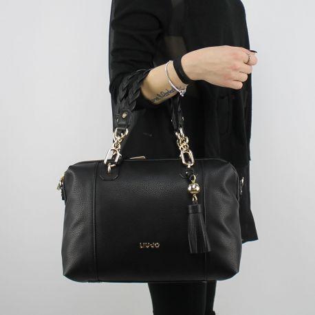 Shopping bag Liu Jo Umhängetasche Arizona schwarz A18053 E0086