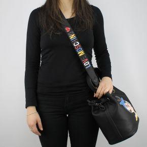 Bag sechiello Love Moschino black doll JC4090PP15LK0000