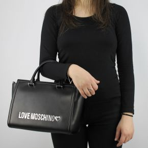 Borsa bauletto Love Moschino nera trapuntata JC4214PP05KA000A