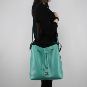 Bag bucket bag Liu Jo m drawstring hawaii python porcelain green soy