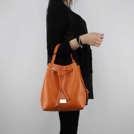 Bag bucket bag Liu Jo Drawstring Hawaii orange and soy In