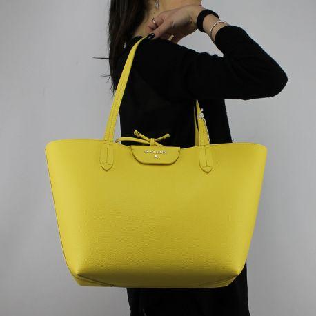 Borsa Shopping reversibile Patrizia Pepe gialla perla 2V5452 AV63