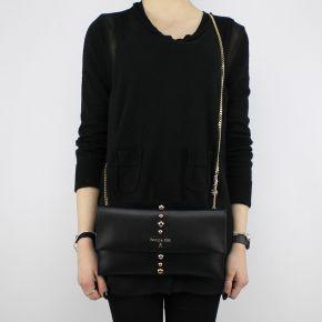 Tasche Clutch von Patrizia Pepe schwarze 2V5460 A4BG