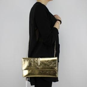 Bag Clutch Patrizia Pepe gold 2V5460 AG49