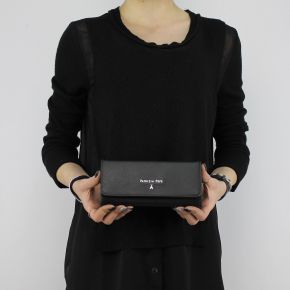 Wallet leather Patrizia Pepe black