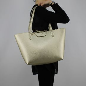 Borsa Shopping reversibile Patrizia Pepe oro perla 2V5452 AV63