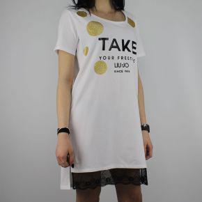 T-Shirt de Liu Jo Deporte Jolie blanco