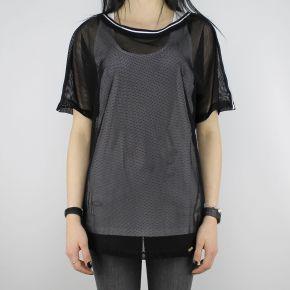 T-shirt Liu Jo Sport Veronica nera e bianca
