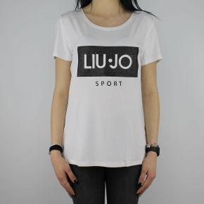 T-Shirt Liu Jo Sport Cloe white
