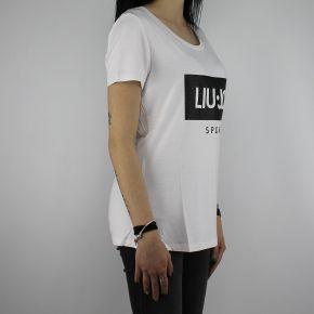 T-Shirt de Liu Jo Deporte Cloe blanco