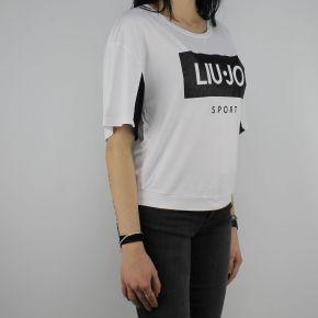 T-Shirt Liu Jo Sport Cloe bianca T18115