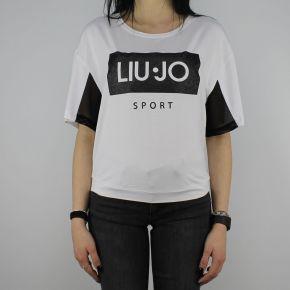 T-Shirt Liu Jo Sport Cloe white T18115