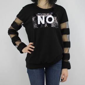 Sweatshirt-Liu Jo Sport Milena schwarz
