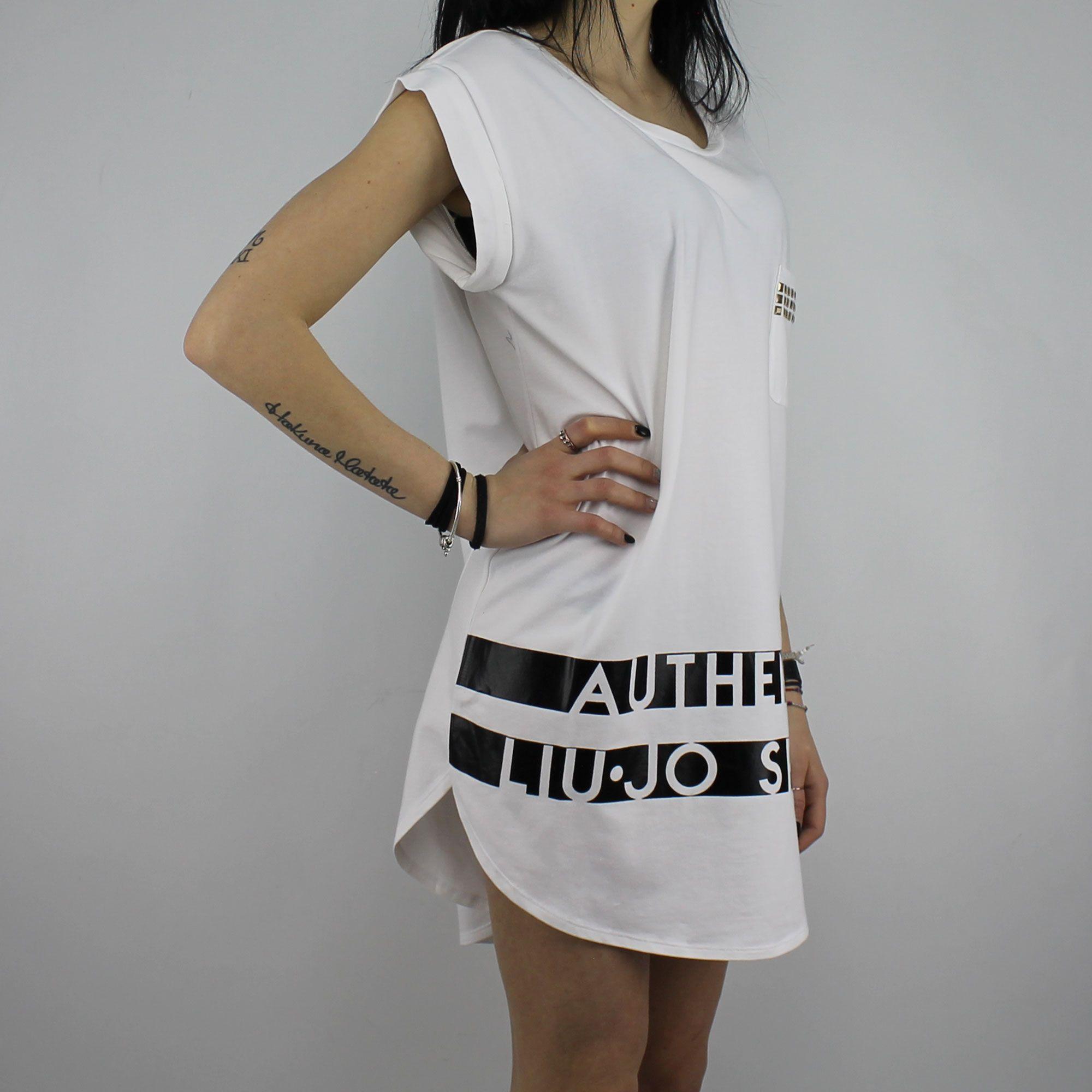 T Shirt Liu Jo Sport Vanda white In More Est Store