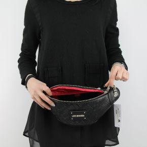 Tasche bauchtasche Love Moschino schwarz logato JC4228PP05KB0000