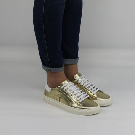 Scarpa Sneakers Patrizia Pepe oro 2V7959 AQ22