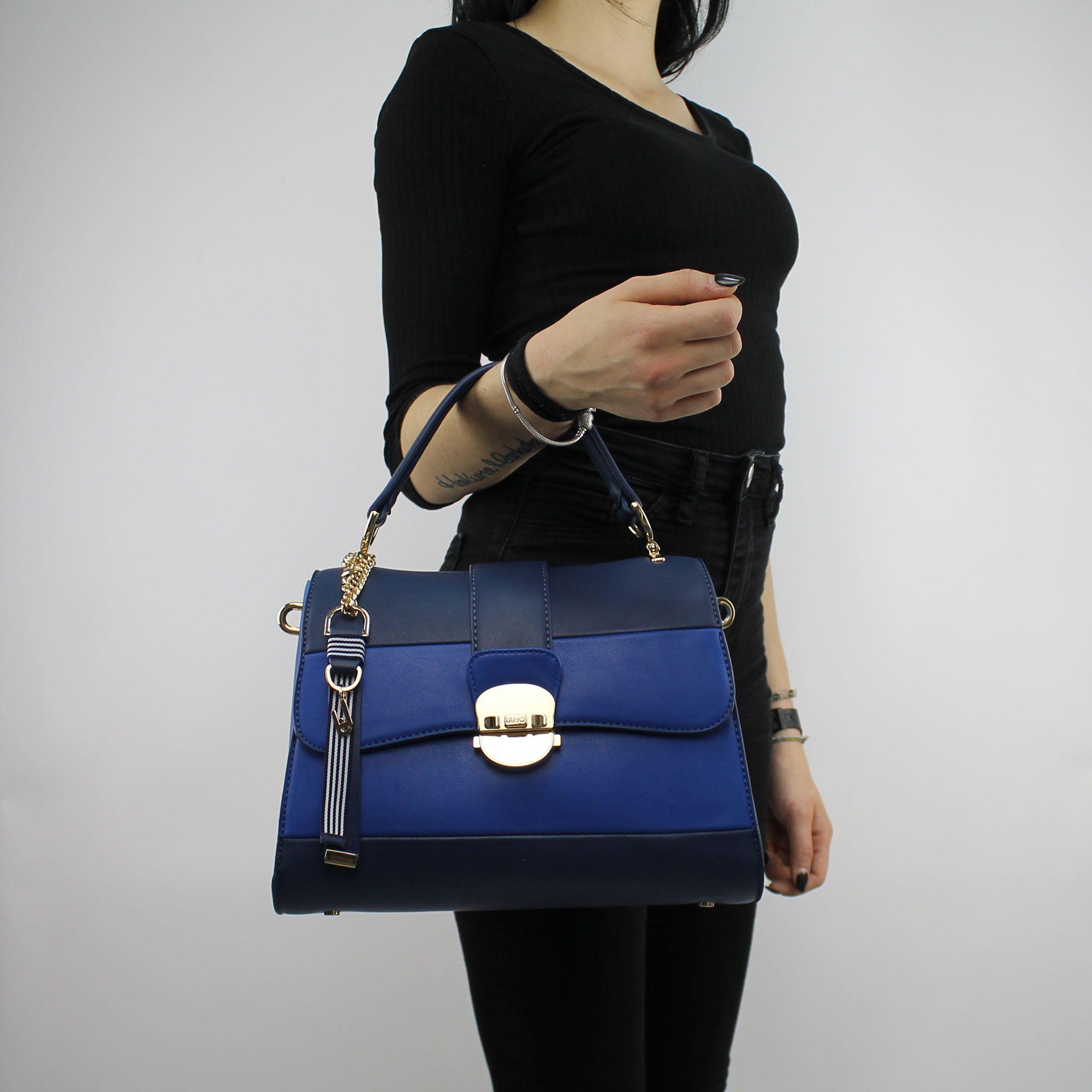 Shoulder bag Liu Jo, the handle to the top, Kansas, black