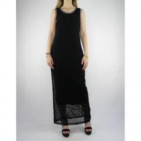 Vestido de Liu Jo Deporte Verónica jersey negro