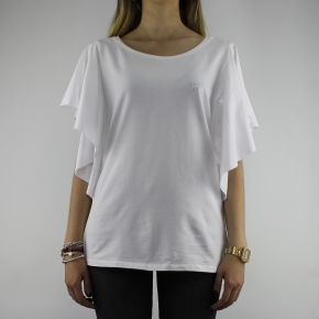 T-shirt Liu Jo Sport white with pearls T18116