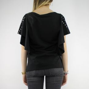 T-Shirt von Liu Jo Sport-Debora schwarz