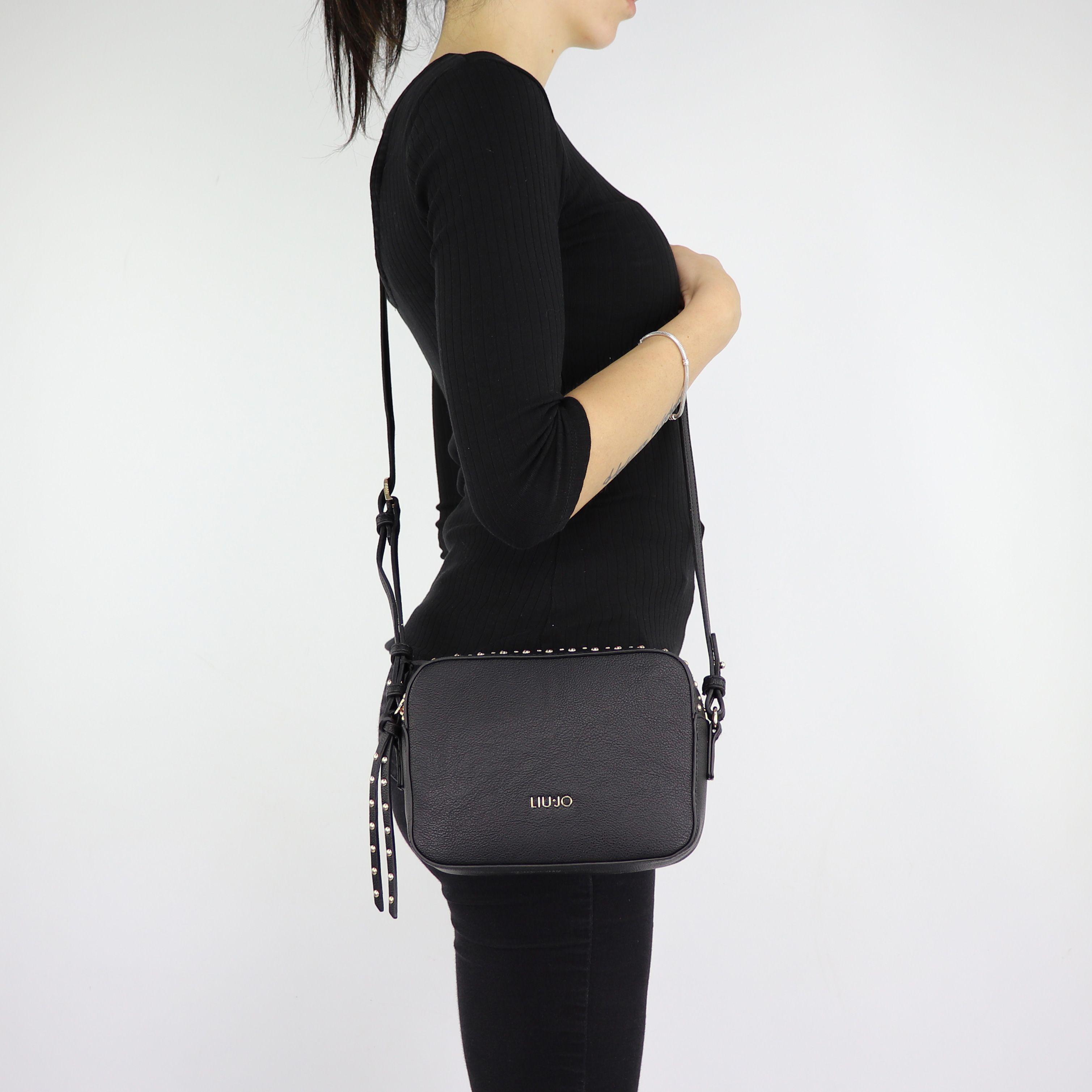 autentico a9ce0 eb63d Shoulder bag Liu Jo CrossBody Joy black size XS A68056 E0033