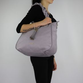 Shopping bag Liu Jo Tote Piave grey size M A68111 E0027