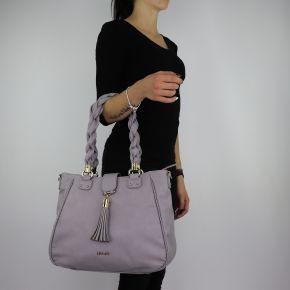 Bolsa de compras de Liu Jo Tote Piave gris talla M A68111 E0027