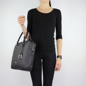 Bag folder Liu Jo Briefcase island black size L A68008 E0087