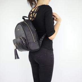 Backpack Liu Jo Piave black A68116 E0027 ... e9f28d8e238